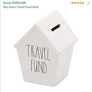 RAE DUNN Travel Funds Bank